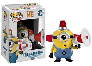 Pop! Movies Despicable Me Vinyl Figure Fire Alarm Minion #126 (Vaulted)