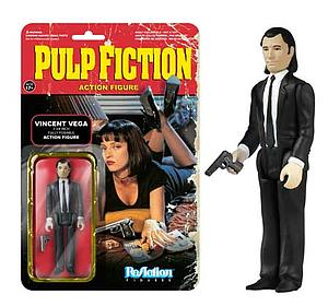 ReAction Figures Pulp Fiction Movie Series Vincent Vega (Vaulted)