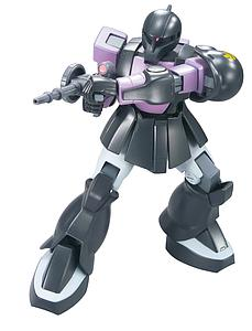Gundam High Grade Universal Century 1/144 Scale Model Kit: #068 Zaku I Black Tri-Stars