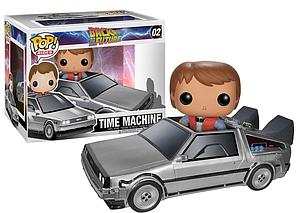 Pop! Rides Movies Back to the Future Vinyl Figure Delorean Time Machine #02 (Vaulted)