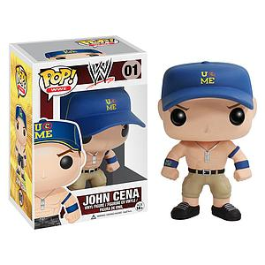 Pop! WWE Vinyl Figure John Cena (Blue Hat) #01 (Vaulted)