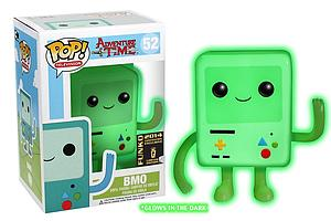 Pop! Television Adventure Time Vinyl Figure Glow in the Dark BMO #52 SDCC Exclusive