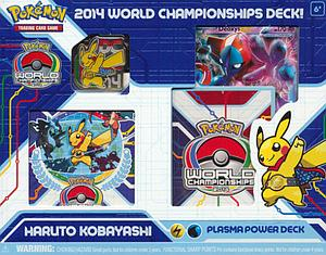 Pokemon Trading Card Game 2014 World Championships Deck: Haruto Kobayashi - Plasma Power Deck