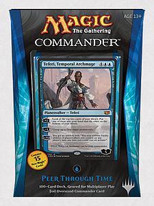 Magic the Gathering: Commander 2014 - Peer through Time Deck (Blue)