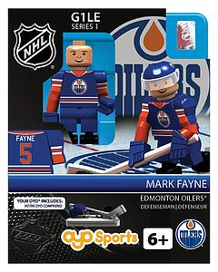 NHL Hockey Minifigures: Mark Fayne (Edmonton Oilers)