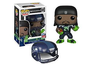 Pop! Football NFL Vinyl Figure Marshawn Lynch (Seattle Seahawks) #03 (Retired)