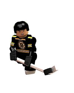 Hockey Minifigures: Carl Soderberg (Boston Bruins)