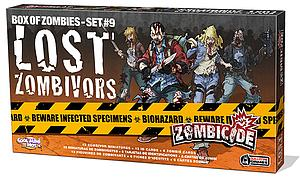 Zombicide: Box of Zombies Set #9 - Lost Zombivors