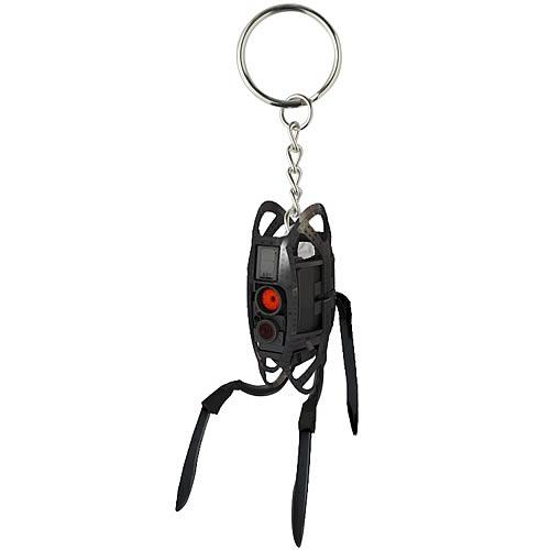 Portal 2 Turret Keychain