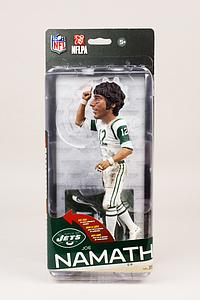 NFL Sportspicks Series 35 Joe Namath White Jersey (New York Jets) Collector Level