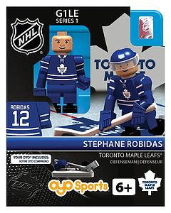 NHL Hockey Minifigures: Stephane Robidas (Toronto Maple Leafs)