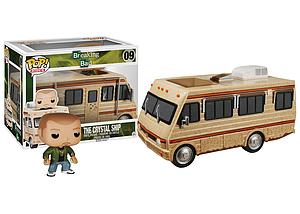 Pop! Rides Television Breaking Bad Vinyl Figure The Crystal Ship with Jesse Pinkman #09 (Vaulted)