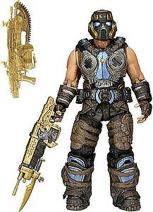 Gears of War 3: Golden Cog Soldier with with Golden Lancers