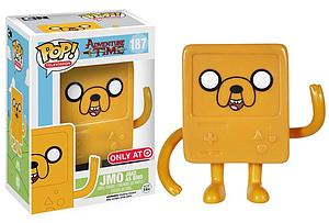 Pop! Television Adventure Time Vinyl Figure JMO Jake as BMO #187 Target Exclusive