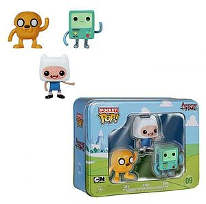 Pop! Pocket Tin Set Adventure Time Jake BMO Finn #09 (Vaulted)