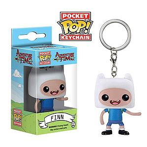 Pop! Pocket Keychain Adventure Time Vinyl Figure Finn (Vaulted)