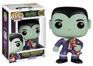 Pop! Television The Munsters Vinyl Figure Eddie Munster #199 (Vaulted)