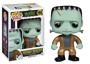 Pop! Television The Munsters Vinyl Figure Herman Munster #196 (Vaulted)
