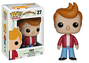 Pop! Animation Futurama Vinyl Figure Fry #27 (Vaulted)