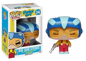Pop! Animation Family Guy Vinyl Figure Ray Gun Stewie #34 (Retired)