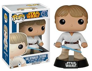 Pop! Star Wars Vinyl Bobble-Head Luke Skywalker (Tatooine) #49 (Vaulted)