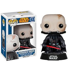 Pop! Star Wars Vinyl Bobble-Head Unmasked Darth Vader #43