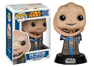 Pop! Star Wars Vinyl Bobble-Head Bib Fortuna #53 (Vaulted)