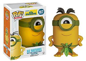 Pop! Movies Minions Vinyl Figure Au Naturel #167 (Vaulted)