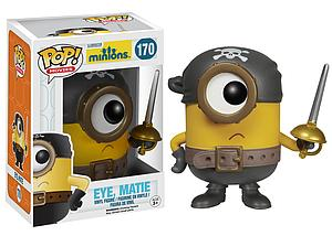 Pop! Movies Minions Vinyl Figure Eye, Matie #170 (Sale) (Vaulted)