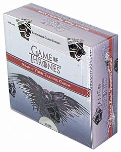Game of Thrones Season 4 Trading Cards: Booster Box (24 Packs)