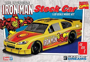 AMT The Invincible Iron Man Model Kits 1:25 Scale Stock Car