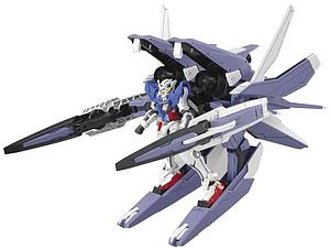 Gundam High Grade Gundam 00 1/144 Scale Model Kit: #013 GN Arms Type E + Gundam Exia (Trans Mode)
