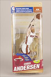 NBA Sportspicks Series 26s - Chris Andersen (Miami Heat) White Jersey Silver Collector Level