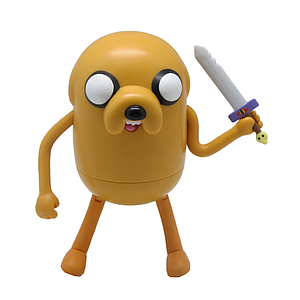 "Adventure Time 5"": Jake (w/ Silver Sword)"