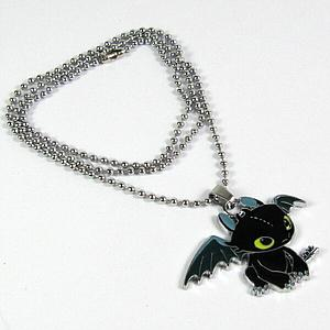 How to Train Your Dragon Necklace Toothless
