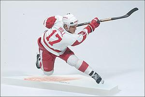 NHL Sportspicks Series 2 Brett Hull (Detroit Red Wings) White Jersey