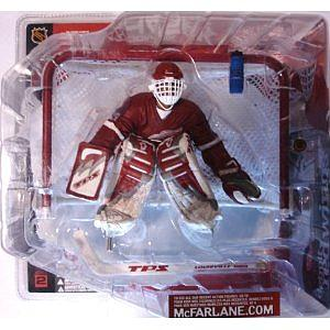 NHL Sportspicks Series 2 Dominik Hasek (Detroit Red Wings) Red Jersey Variant