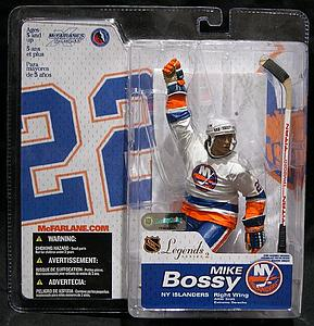 NHL Sportspicks Legends Series 2 Mike Bossy (New York Islanders) White