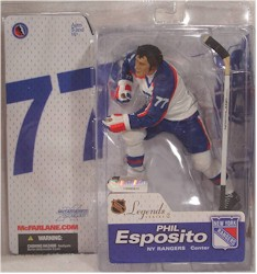 NHL Sportspicks Legends Series 2 Phil Esposito (New York Rangers) White Jersey Variant