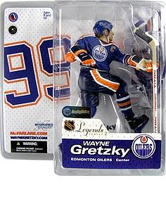 NHL Sportspicks Legends Series 2 Wayne Gretzky (Edmonton Oilers) Blue