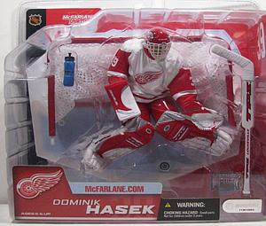 NHL Sportspicks Series 2 Dominik Hasek (Detroit Red Wings) White Jersey