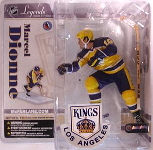 NHL Sportspicks Legends Series 3 Marcel Dionne (Los Angeles Kings) Yellow Jersey Variant