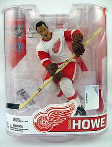 NHL Sportspicks Legends Series 6 Gordie Howe (Detroit Red Wings) White Jersey Reg