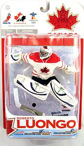 NHL Sportspicks TC Vancouver 2010 Series 1 Roberto Luongo (Team Canada) White Jersey Variant