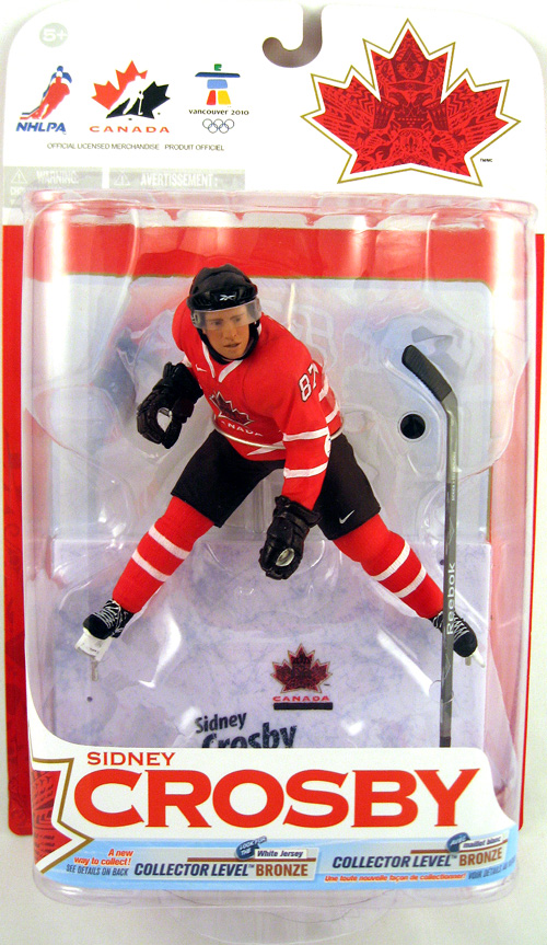 NHL Sportspicks TC Vancouver 2010 Series 1 Sidney Crosby (Team Canada) Red