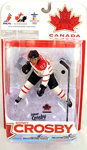 NHL Sportspicks TC Vancouver 2010 Series 1 Sidney Crosby (Team Canada) White Jersey Variant