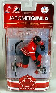 NHL Sportspicks TC Vancouver 2010 Series 2 Jerome Iginla (Team Canada) Red Jersey Exclusive