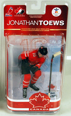NHL Sportspicks TC Vancouver 2010 Series 2 Jonathan Toews (Team Canada) Red Jersey Exclusive