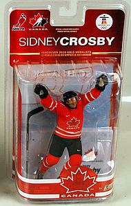 NHL Sportspicks TC Vancouver 2010 Series 2 Sidney Crosby (Team Canada) Red Jersey Exclusive