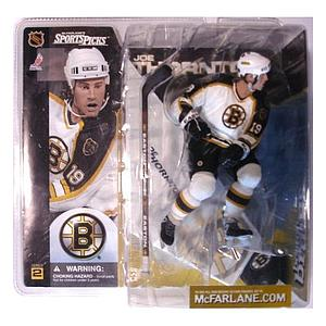 NHL Sportspicks Series 2 Joe Thornton (Boston Bruins) White Jersey Variant